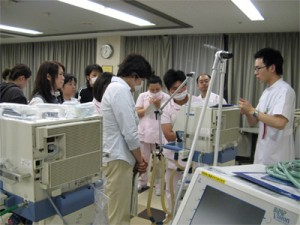 人工呼吸器研修