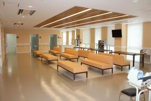 2階 健診センター(ラウンジ)
